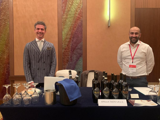 "APRULIA TASTE ON THE ROAD: IN SINGAPORE AND TAIWAN FOR THE ""ALLEGRO APULO"" NEW ITALIAN WINE LINE"